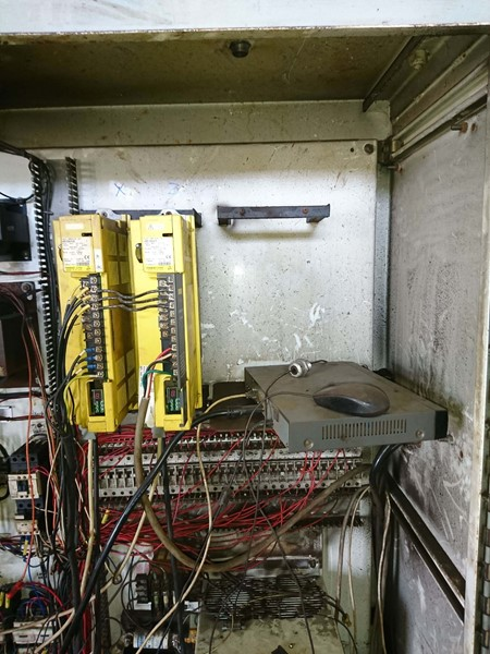 Bronx Eng. Control Cabinet Before Decontamination